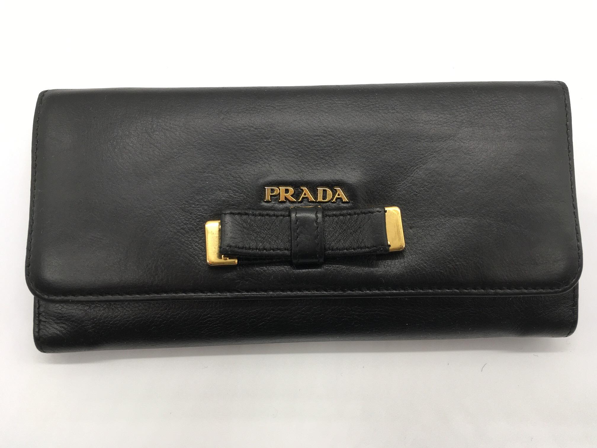 ブランドリペア転売 プラダの長財布を仕入れの9倍で販売!利益率は驚異の70%超え!